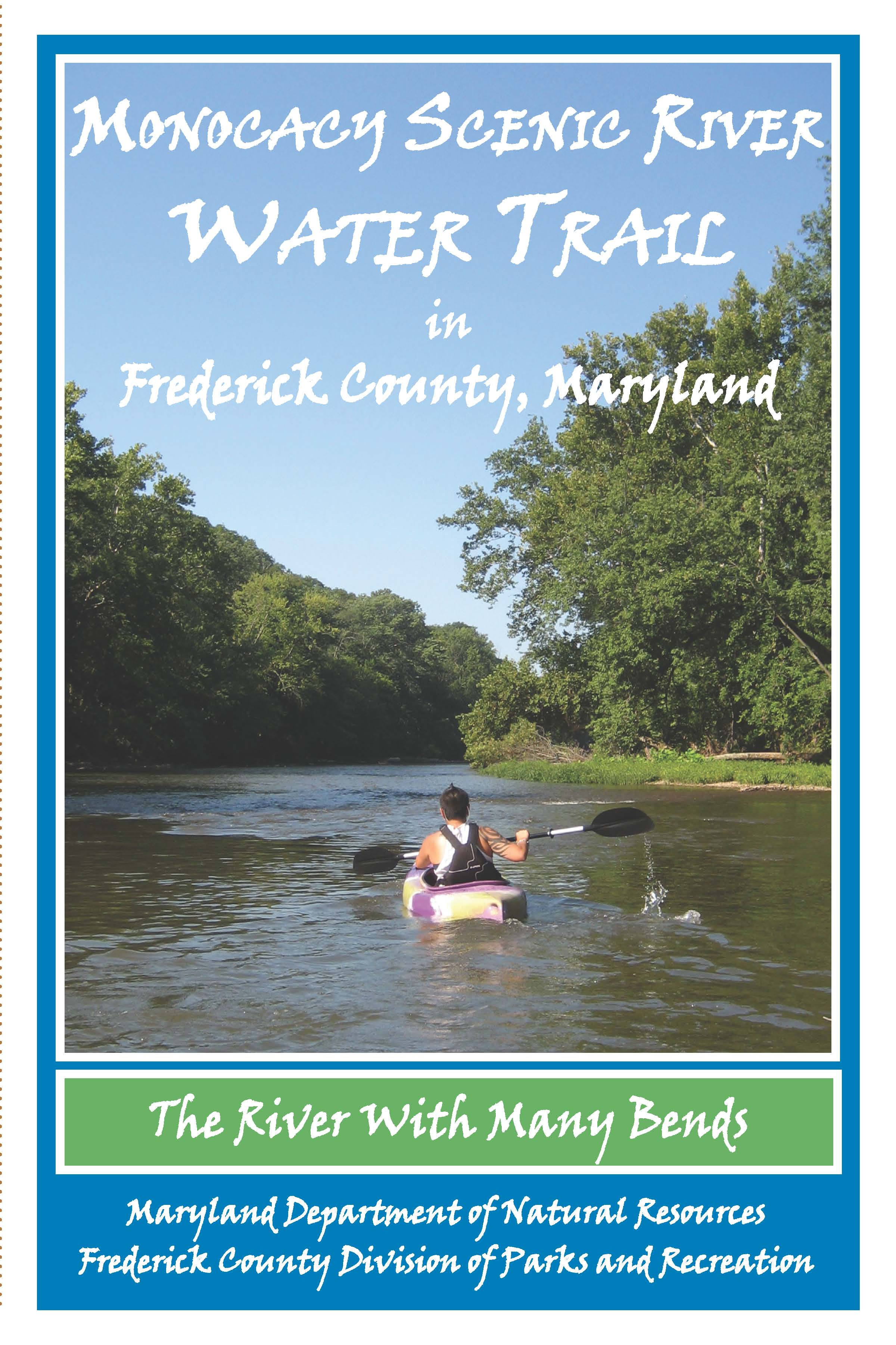 Monocacy Scenic Water Trail Map Frederick County Parks And - Boat accessibility map us