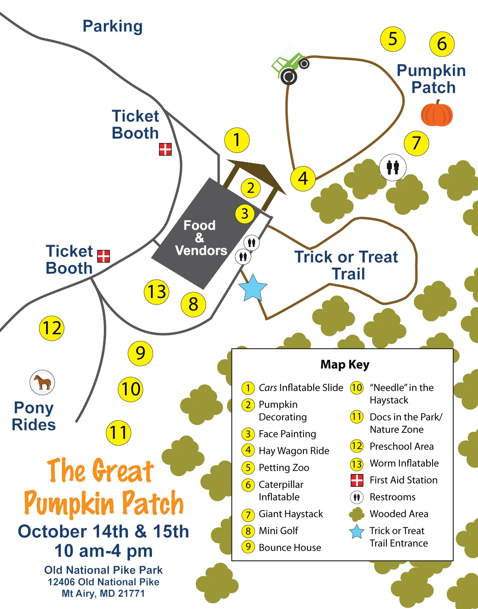 Great Pumpkin Patch Event Map