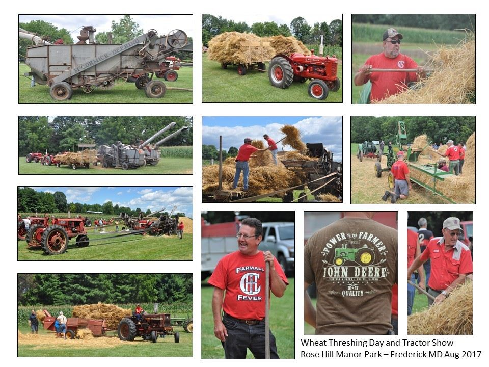 Threshing Days