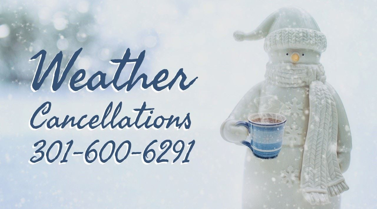 Snow-Weather Cancellations