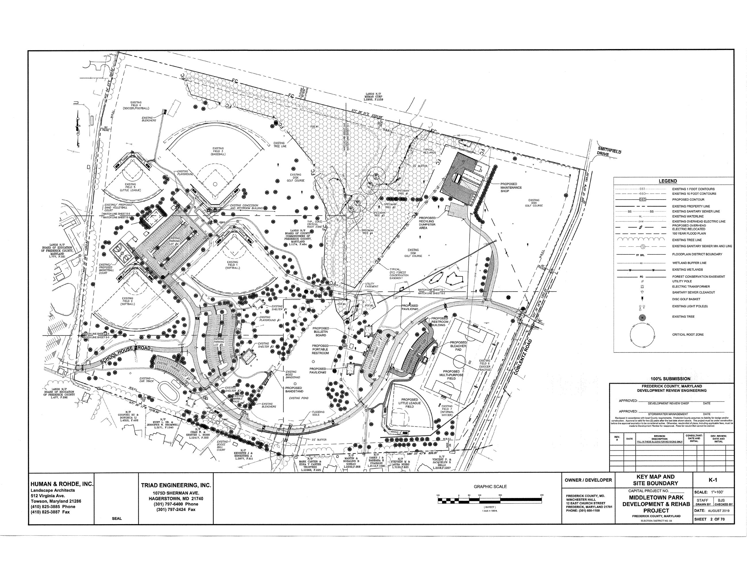 Middletown Site Plan